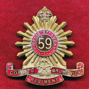 59 INF BN Hat Badge (C-B Regt) (30/42)