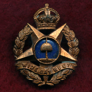 Wide Bay Regiment (QLD) - Hat/Cap/Collar Badge