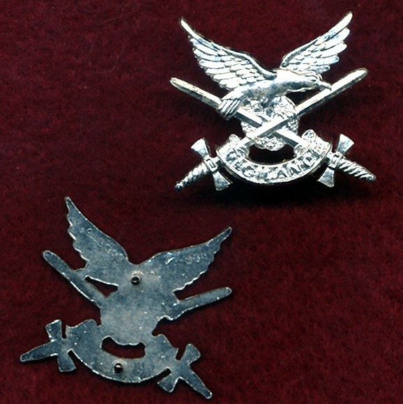 Collar Badge - AAAvn Corps  (w/R)  (A/A)