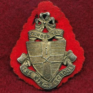 Kings School Cadet Unit Hat Badge