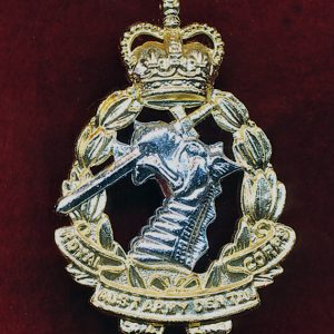 Hat Badge - RAADC  (Hawke) (60/90s)