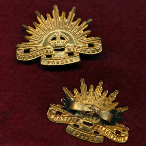 Cap Badge - G.S. Rising Sun (AMF) (Luke) (48/53)