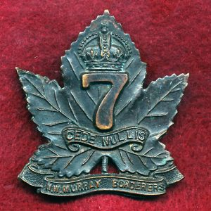 7 INF BN Hat Badge (N-W Murray Borderers) (30/42)