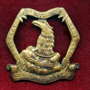 8 INF BN Hat Badge (City of Ballarat Regt) (30/42)
