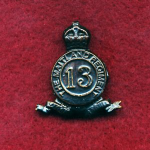 13 INF BN Collar Badge (Maitland Regiment) (30/42)