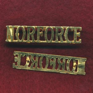 NORFORCE Shoulder Title