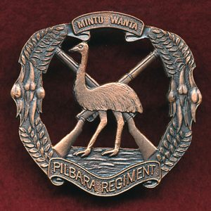 Pilbara Regiment - Hat Badge (2nd Pattern)