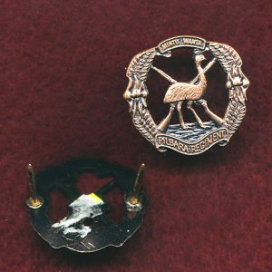 Pilbara Regiment - Collar Badge (w/R) (2nd Pattern)