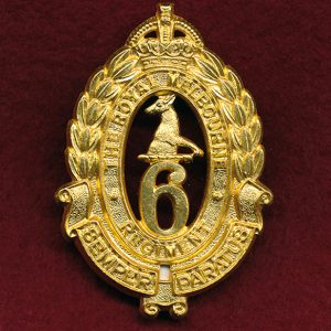6 INF BN Hat Badge (Royal Melbourne Regt.) (48/53)
