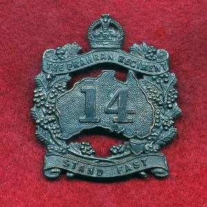 14 INF BN Hat Badge (Prahran Regt) (30/42)
