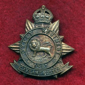 15 INF BN - Hat Badge (Oxley Regt.)(30/42)