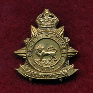 15 INF BN - Collar Badge (w/L( (Oxley Regt.)(30/42)