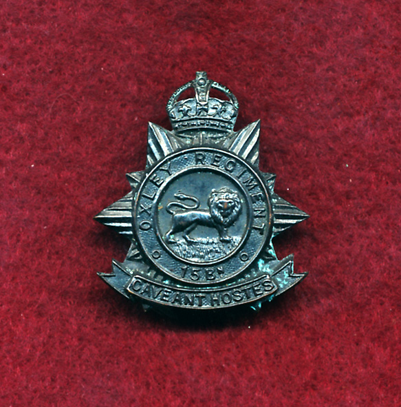 15 INF BN - Collar Badge (w/R) (Oxley Regt.)(30/42)