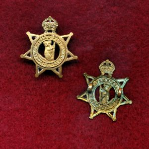 24 INF BN Collar Badge  (Kooyong Regt) (w/R)