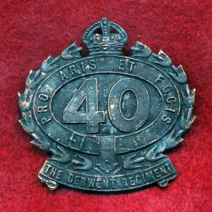 40 INF BN Hat Badge (Derwent Regt.) (30/42)