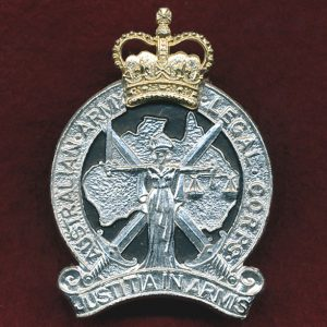 Hat Badge - Australian Army Legal Corps (A/A) (Stokes)