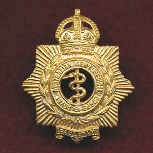 Hat Badge - RAAMC 1948-53