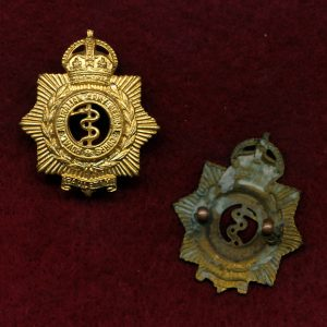 Collar Badge - RAAMC  (48/53)