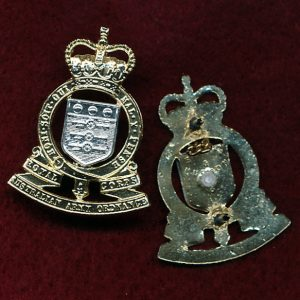 Collar Badge - RAAOC (w/R) (A/A)