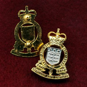 Collar Badge - RAAOC (w/R) (Briteshine)