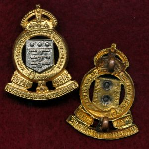 Collar Badge - RAAOC (48/53) (w/R)