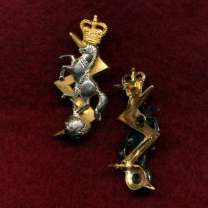 Collar Badge - RAEME  (w/L)