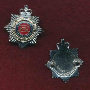 Collar Badge - RAASC  (Officers) (60/85)