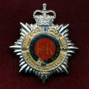 Hat Badge - RAASC (Officers) (60/85)