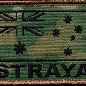"Australian National Flag - STRAYA"" (multicam)"