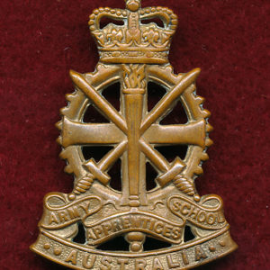 Hat Badge - Army Apprentices School  53/60