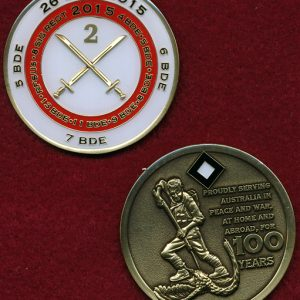 2 Division - 100th Anniversary Coin