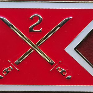 2 Division Commanders Coin