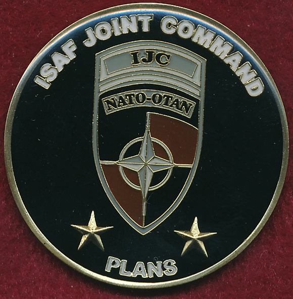 Afghanistan   ISAF Joint Command Plans