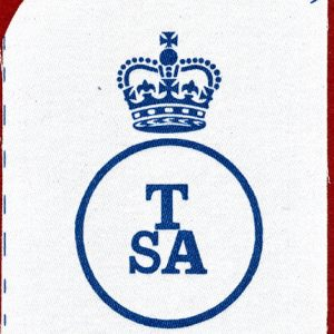 "Navy Rating Patch  ""TSA""  978 8187"