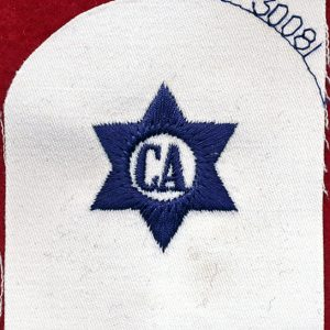 "Navy Rating Patch ""CA""   30081"