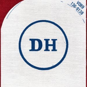 "Navy Rating Patch  ""DH""   136-9138"