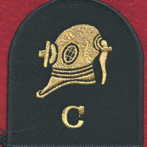 Clearance Diver Patch - RAN (Gold Thread)