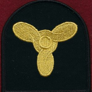 Marine Technician Rating Insignia (Bullion)