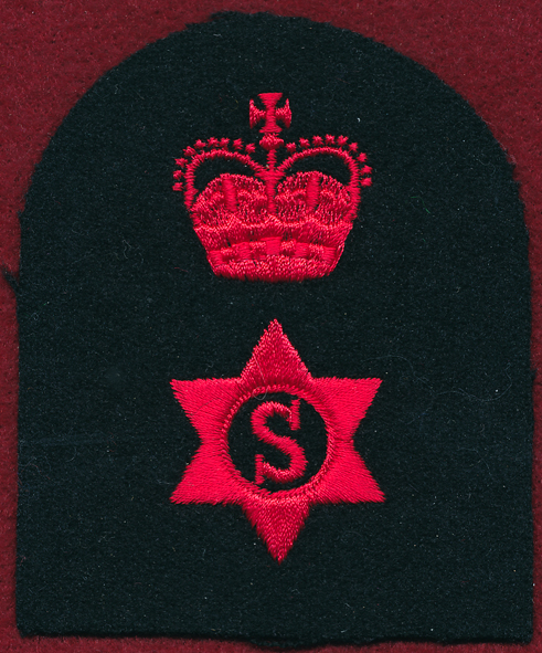 Stores Naval Rating Insignia