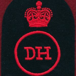"Navy Rating Patch  ""DH""   V083 978 8162"