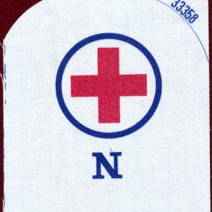 "Navy Rating Patch ""N""   33358"