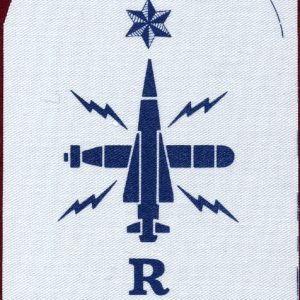 "Navy Rating Patch ""R""    V087 139-9321"