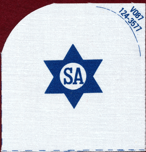 "Navy Rating Patch ""SA""   124-3577"