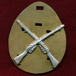 Marksman's Badge (Silver Finish)