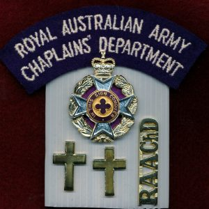 Hat, Collar and Titles set - RAAChD (Christian) (A/A)