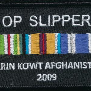 Afghanistan - Ribbon Bar Memento Patch
