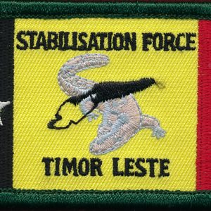 EAST TIMOR - ANZAC Stabilisation Force