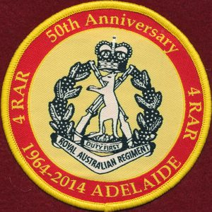 4RAR - 50th Anniversary patch  (1964-2014)