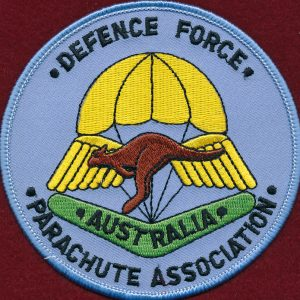 Defence Force Parachute Association Patch