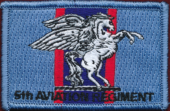 5th Aviation Regiment U/official (Black Lettering)